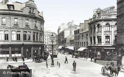 Belfast, Corn Market 1897