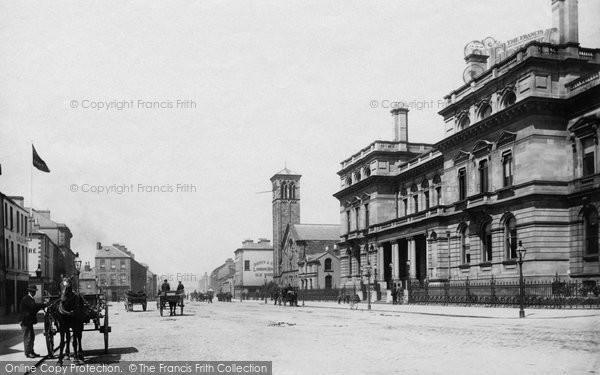 Photo of Belfast, Corporation Square 1897