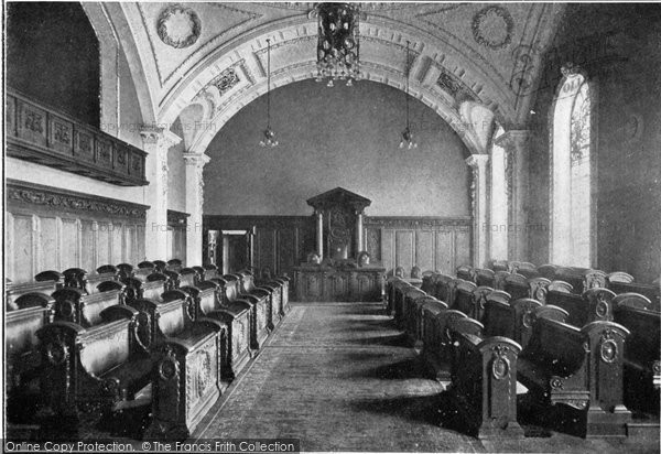Photo of Belfast, Council Chamber, City Hall c.1910