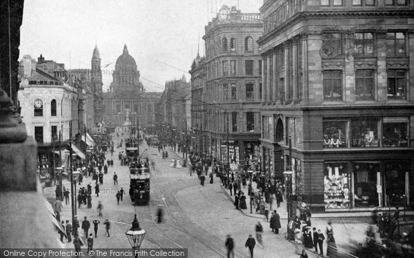 Photo of Belfast, Donegall Place c.1910