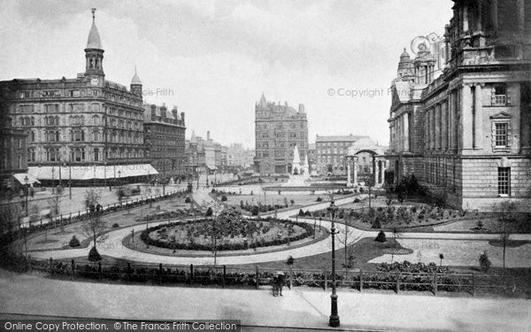 Photo of Belfast, Donegall Square c.1910