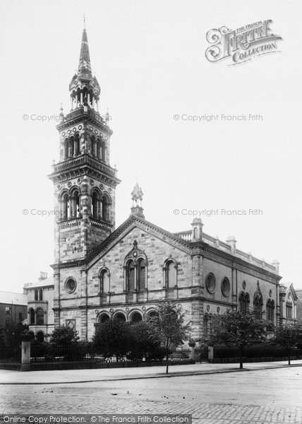 Photo of Belfast, Elmwood Church 1897