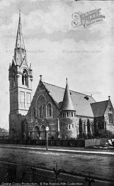 Photo of Belfast, Fitzroy Avenue Presbyterian Church c.1910