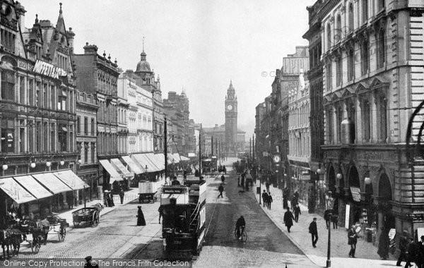 Photo of Belfast, High Street c.1910