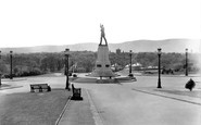 Belfast, Lord Carson Monument, Stormont 1936