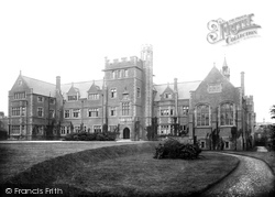 Belfast, Methodist College, Mcarthur Hall 1897