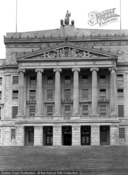 Photo of Belfast, Northern Parliament House Entrance, Stormont 1936