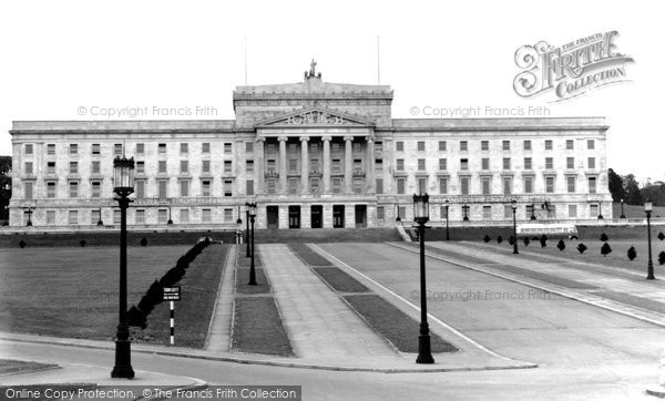 Photo of Belfast, Northern Parliament House, Stormont 1936