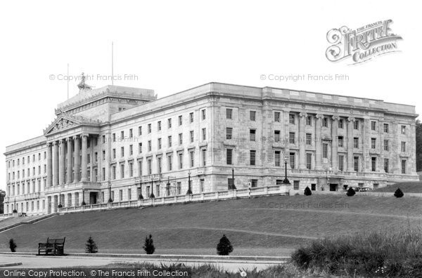 Photo of Belfast, Northern Parliamentary House, Stormont 1936
