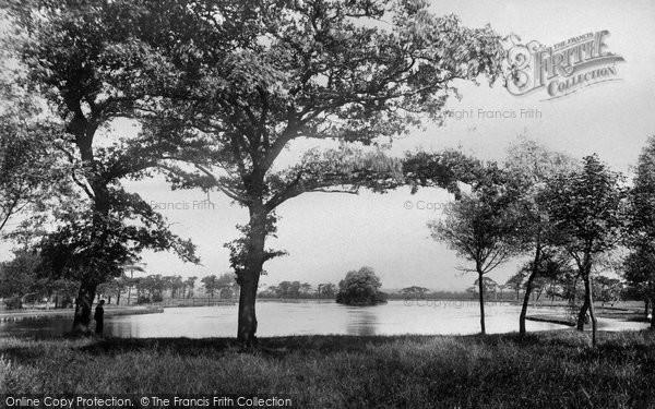 Photo of Belfast, Ormeau Park Lake 1897