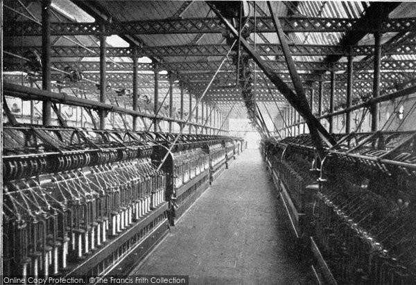 Photo of Belfast, Preparing Room, Ewart & Sons Linen Factory c.1910