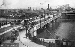 Belfast, Queen's Bridge c.1910
