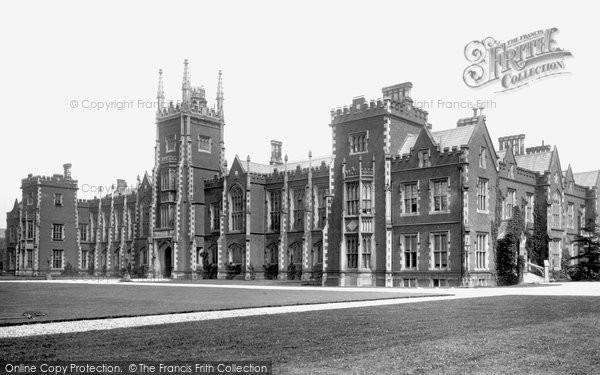 Photo of Belfast, Queen's College 1897