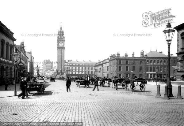 Photo of Belfast, Queen's Square 1897
