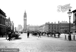 Belfast, Queen's Square 1897