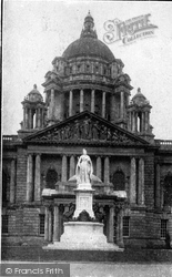 Belfast, Queen Victoria's Memorial c.1910
