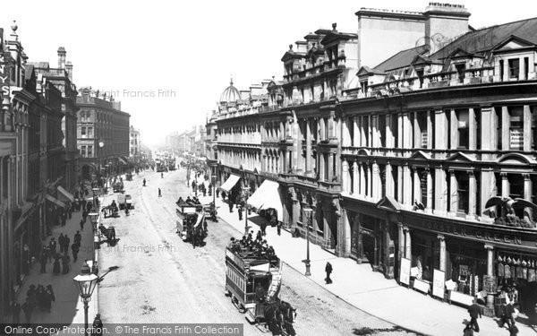 Photo of Belfast, Royal Avenue 1897