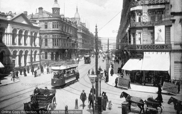 Photo of Belfast, Royal Avenue c.1900