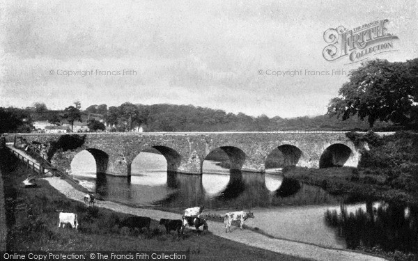 Photo of Belfast, Shaw's Bridge On River Lagan c.1910