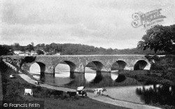 Belfast, Shaw's Bridge On River Lagan c.1910