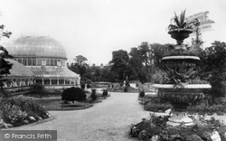 Belfast, The Botanic Gardens 1897