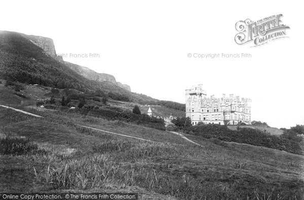 Photo of Belfast, The Castle And Cave Hill 1897