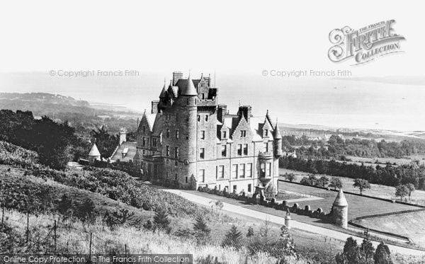 Photo of Belfast, The Castle And Lough 1897