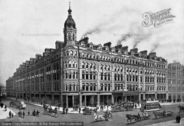 Photo of Belfast, The Grand Central Hotel, Royal Avenue c.1900