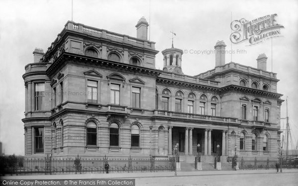 Photo of Belfast, The Harbour Office 1897