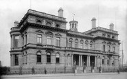 Belfast, The Harbour Office 1897