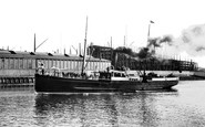 Belfast, the Isle of Man Steamer, 'Fenella' 1897