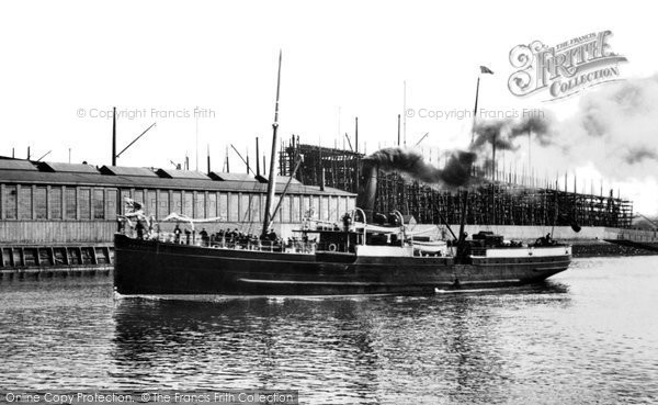 Photo of Belfast, the Isle of Man Steamer, 'Fenella' 1897