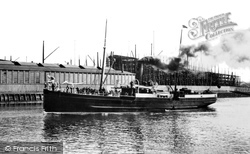 Belfast, The Isle Of Man Steamer, 'fenella' 1897