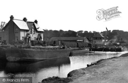 Belfast, The Lagan Canal, Stranmillis 1936