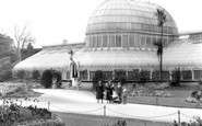 Belfast, The Palm House, The Botanic Gardens 1936