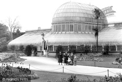 Belfast, The Palm House, The Botanic Gardens 1936
