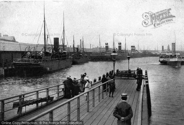 Photo of Belfast, The Quays c.1910