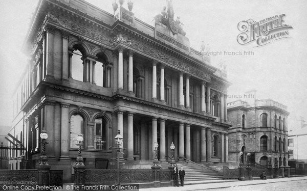 Photo of Belfast, Ulster Bank, Waring Street 1897