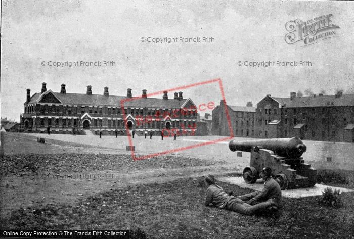 Photo of Belfast, Victoria Barracks c.1910