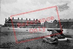 Belfast, Victoria Barracks c.1910