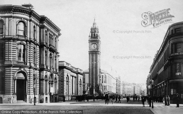 Photo of Belfast, Victoria Street 1897