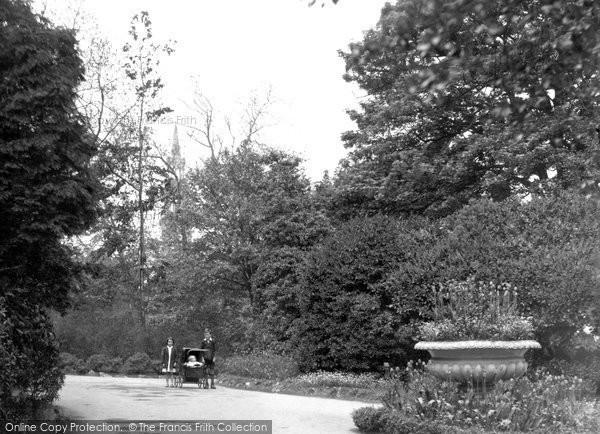 Photo of Belfast, View In Botanic Gardens 1936