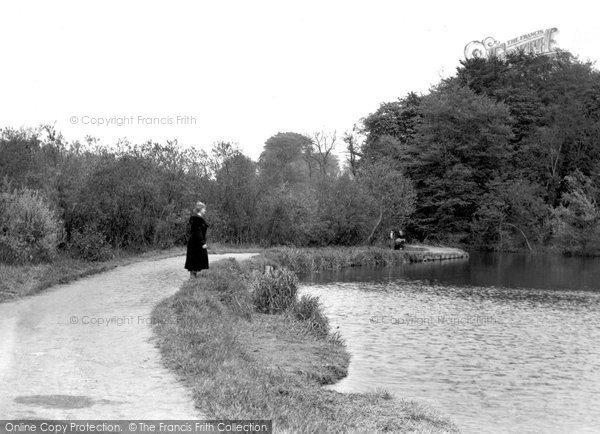 Photo of Belfast, View On The River Lagan 1936