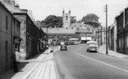 Belford, High Street And Church c.1955