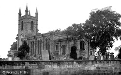 St Mary's Church c.1955, Belford