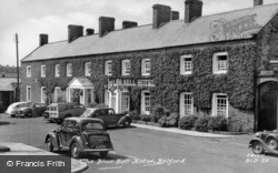 The Blue Bell Hotel c.1955, Belford