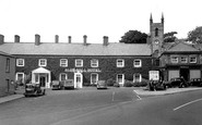 Belford, The Cross And Bluebell Hotel c.1955
