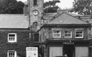 Belford, The Cross And Church c.1955