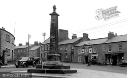 The Cross And Main Road c.1950, Belford