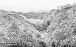 Bellingham, Hareshaw Burn c.1955